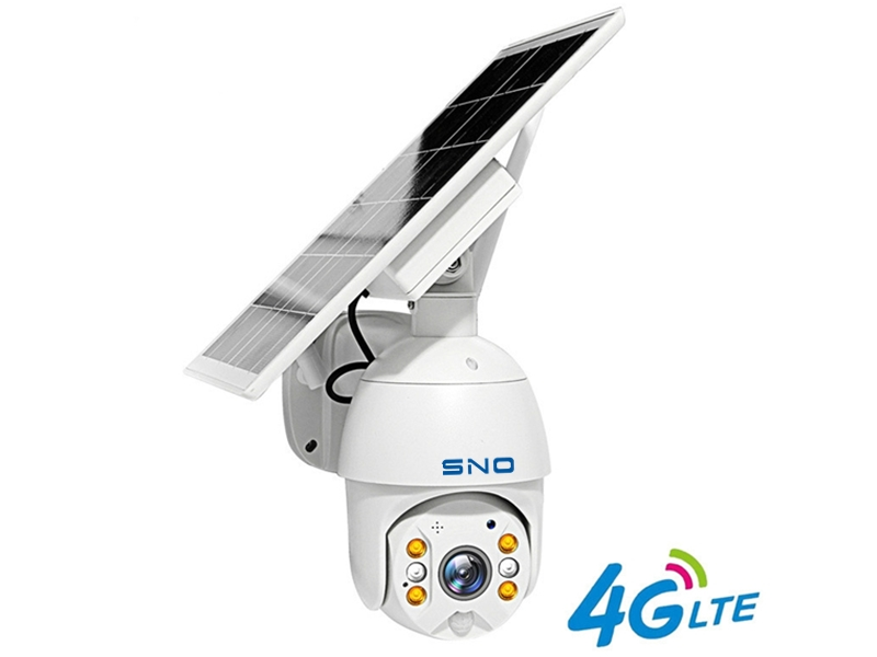 SNO 1080P Two-Way Audio Long Standby HD Solar Panel 4G Outdoor Monitoring Waterproof CCTV Camera Smart Home Anti-theft Alarm SNO-Q8S-4G-20