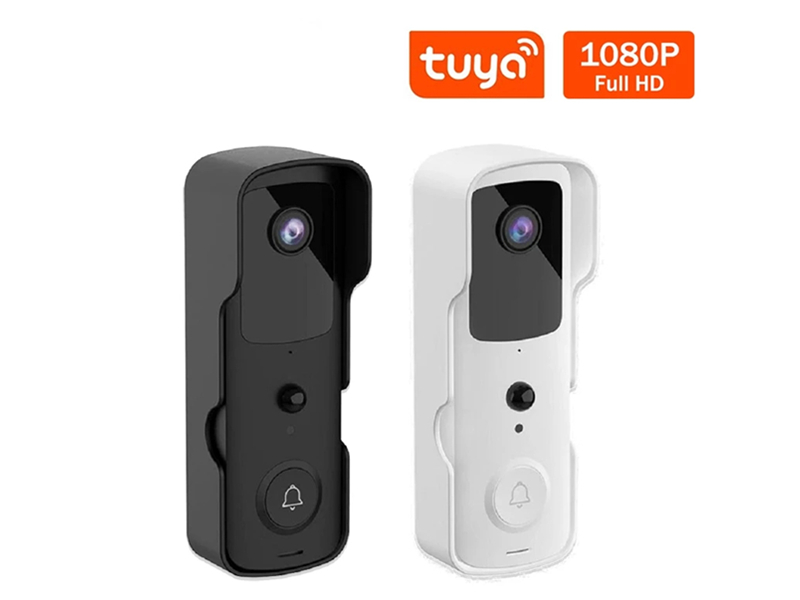 Smart Tuya Video Doorbell WIFI Connected With Video Surveillance Camera HD Night Vision Picture Doorbell Home Security System